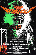 The Legend of the Werewolf - Peter Cushing - A4 Laminated Mini Movie Poster