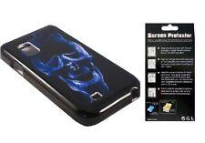Screen Protector + EP Skull Cover Case for Samsung Galaxy S Showcase SCH-i500
