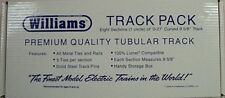 Williams O-27 Scale 9 5/8 Curved Train Track 8 Pack Lionel Compatabile New