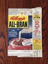 1960's Kellogg's All Bran Cereal Box Art Linkletter Vintage Sweetheart Doll