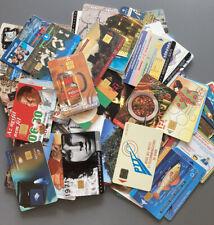 80 versch.Telefonkarten/Chipkarten International gebr.