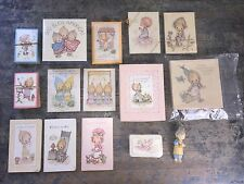 LARGE LOT of Vintage Betsey Clark Hallmark Collectibles Ornaments, Doll + more