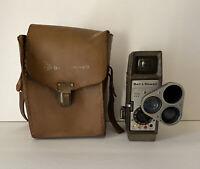 Vintage Bell & Howell 333 8MM Home Movie Camera w/Original Case