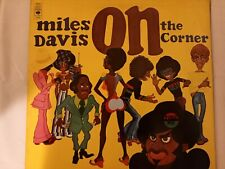 "Miles Davis ""On The Corner"" Gatefold LP CBS #F"