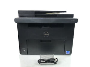 Dell C1765NFW Business Color Laser Printer With USB Printer Cable & Toner