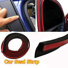 "160"" /4M P-shape Car Truck Motor Door Rubber Hollow Seal Strip Weatherstrip"