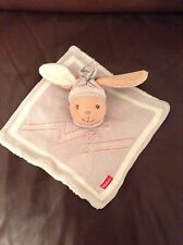Kaloo Baby Comforter Blanket Lapin Bunny Rabbit Knitted Doudou Soft Toy Rare