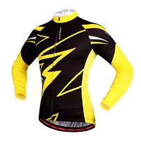 Cycling Jersey Mens Long Sleeve Biking Top Outdoor Sports wear New Bike Shirt