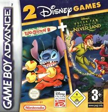 Lilo & Stitch 2 + Peter Pan - Return To Never Land - 2 Games GBA