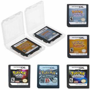 Pokemon Spiele karte Soul Silver / HeartGold Version für Nintendo 3DS NDSI NDS*