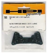HPI Racing 75003 R40 Aluminum Rear Damper / Shock Plate Mount REAR SHOCK PLATE A