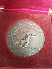 Médaille argent massif - H. DUBOIS -  Revue de  photographie