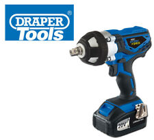 DRAPER STORM FORCE 20V CORDLESS IMPACT WRENCH 2 BATTERIES 3.0AH FAST CHARGE