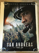 San Andreas Theater Original Movie Poster One Sheet DS 27x40 1