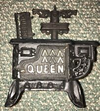 Vintage Mini Cast Iron Queen Toy Stove Oven - Selling for parts