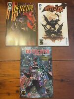 3 Batman Detective Comics #1000, Jim Lee, 1990's Tim Sale & 2010's Greg Capullo