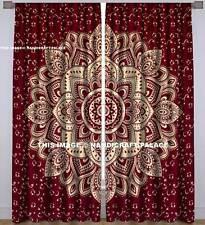 Mandala Door Window Curtain Drape Panel Scarf Valances Indian Hippie Curtains