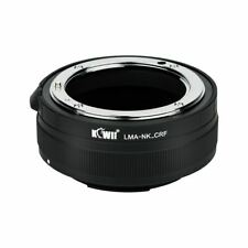 JJC LMA-NK_CRF Lens Mount Adapter for Nikon F Mount Lens to Canon RF Mount Body