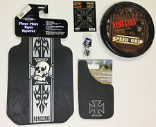 Renegade Iron Cross 7 Pc Automotive Gift Set Floor Mats Mud Guards and more