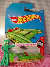 H2GO #184✰green/yellow boat;FIRE DEPT✰HW RESCUE✰2017 i Hot Wheels case H/J