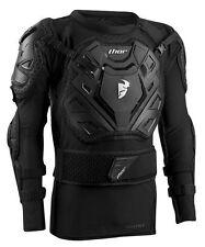 New L/XL 2017 Thor Sentry XP Body Armour Motocross Enduro Black Pressure Suit