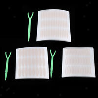 240 Pair Single Side Double Eyelid Sticker Droopy Uneven Eyelid Tape + Fork