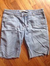 """Express Women's Denim Shorts Size 10, Length 11"""" Light"""