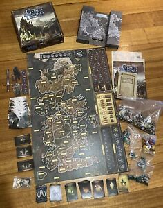 A GAME OF THRONES - THE BOARD GAME - SECOND EDITION - FANTASY FLIGHT GAMES