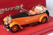 Delage D8 S cabriolet Figoni 1930 Maharaja de Holkar  ouverte 1/43 EVRAT EVR212o