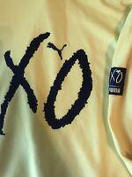 NEW Puma XO The Weeknd Oversized Hoody Size XL Cyber Yellow Sweatshirt NWT $150
