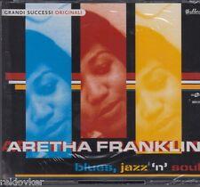 Aretha Franklin / Blues, Jazz 'n' Soul (3-CD-Box auf SONY Music, NEU!)