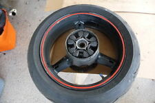 Rear wheel & tire gsxr600 2005 gsxr 6 gixxer suzuki