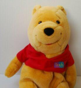 """Walt Disney Winnie The Pooh Large 18"""" Children's Soft Plush Toy & zip storage"""