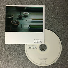 Ryuichi Sakamoto - async. 14 track promo CD (2017) Yellow Magic Orchestra