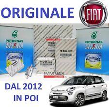 KIT TAGLIANDO FILTRI ORIGINALI + OLIO SELENIA + FILTRO GAS FIAT 500 L 1.4 GPL