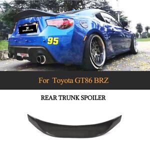 Carbon Heckspoiler Spoiler Hecklippe für Toyota GT 86 Coupe Subaru BRZ 2013-2020