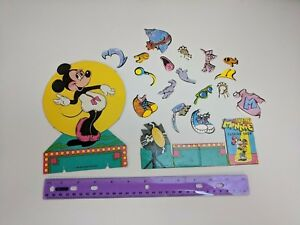 Vintage Colorforms Disney Minnie Mouse Fashion Replacement Pieces Incomplete