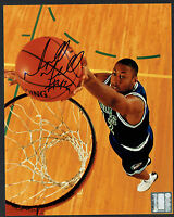 Donyell Marshall signed autograph 8x10 photo Former NBA Small & Power Forward