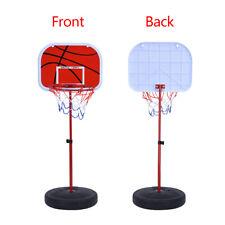 Height Adjustable Basketball Hoop Kids System Portable Basketball Goal Outdoor