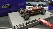 LMM132087-28MBugatti Type 59 #28 Nuvolari 5th Monaco 34 LeMansMiniatures 1/32