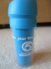 """ABC 5 NEWSNET 5 """"QUENCH YOUR THIRST"""" BLUE WATER BOTTLE BRAND NEW"""