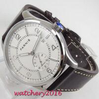 42mm parnis Datum White Dial 1731 Luminous Automatisch Movement Uhr men's Watch