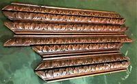 7 Acanthus leaf wood carving trim frieze Antique french pediment crest cornice