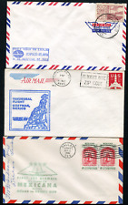 MEXICO: (18356) USA First Flight cancel/FFC covers
