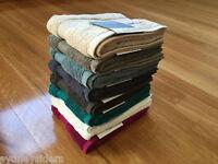 Sheridan Ryan 630GSM 100% Cotton Hand Towel in Carbon/Slate/White/Haze/Sand