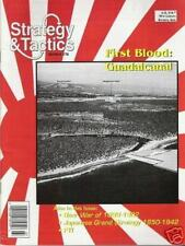 STRATEGY & TACTICS 178 - FIRST BLOOD: GUADALCANAL - MINT AND UNPUNCHED