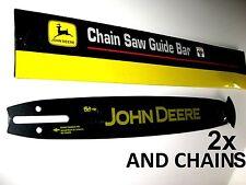 "GENUINE 16"" CHAINSAW BAR & 2 x CHAINS FOR HUSQVARNA 3/8LP 050"