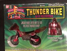 MIGHTY MORPHIN POWER RANGERS THUNDER BIKE WITH RED RANGER