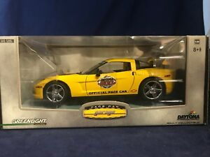 2005 Corvette Indy Pace Cars (2)  Greenlight 1/24 Give a Loved One 2 Corvettes!