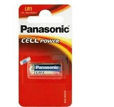 1 pile de marque  PANASONIC - LR1 -  MN9100  - N   1.5V  alcaline